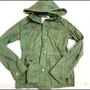 Girls khaki colored jacket